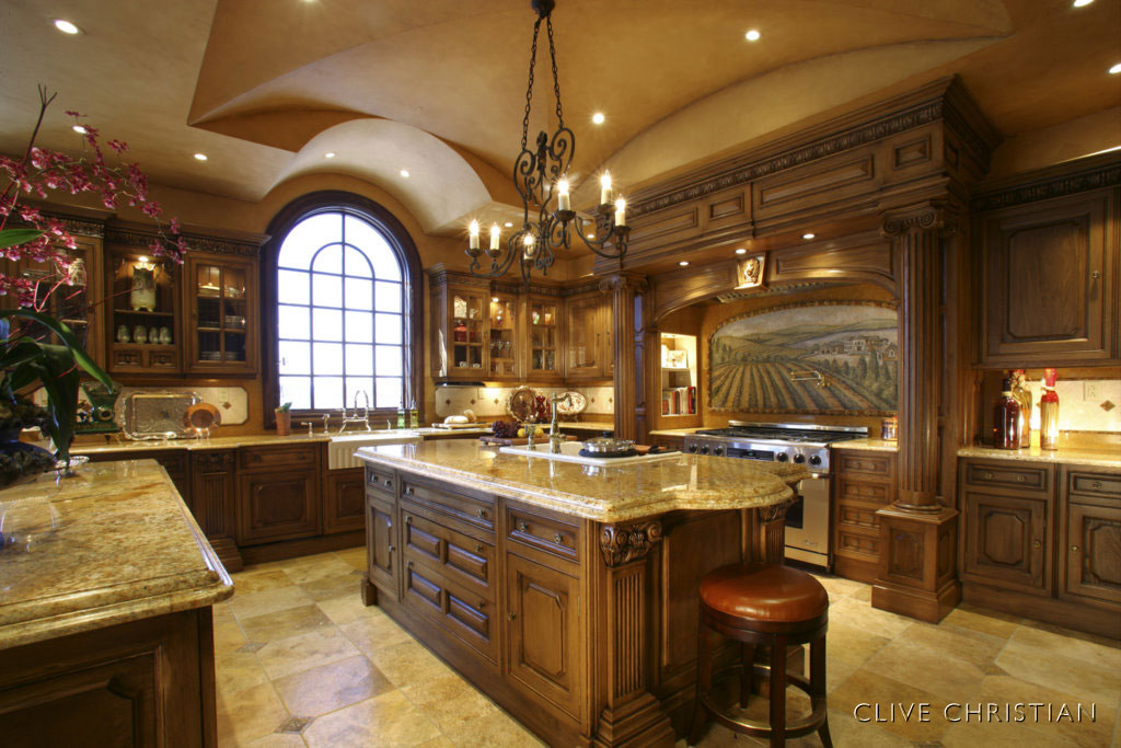 Gorgeous Kitchens Inspiration With Traditional Kitchen Design Images