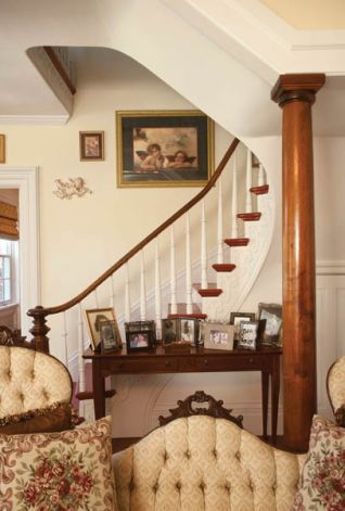Front Stair case