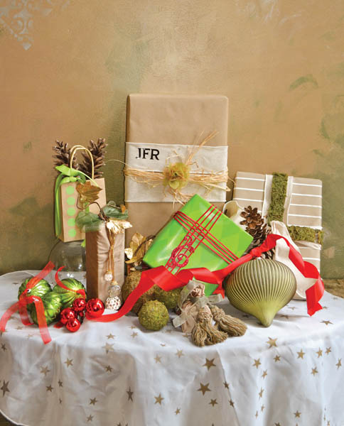 The art of Gift Wrapping!!