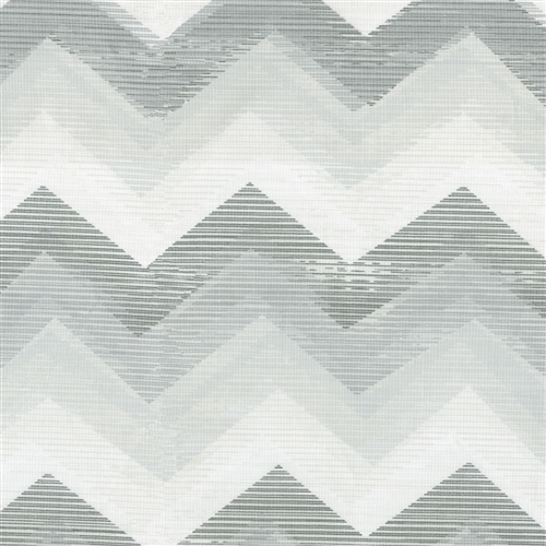 Ikat Chevron Pattern