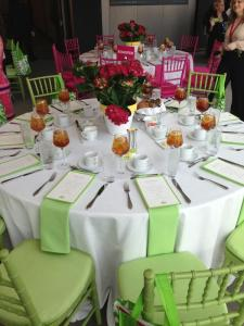 Pink and Green Delight