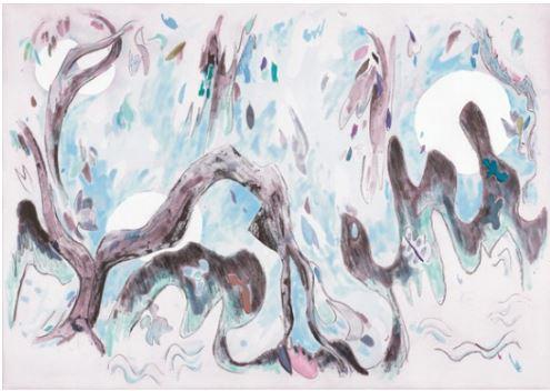 Laura Owens, untitled 2010