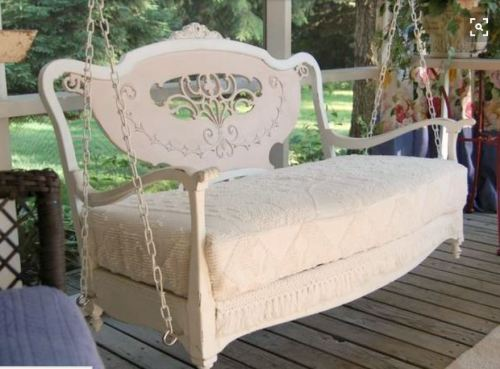 head board bench swing