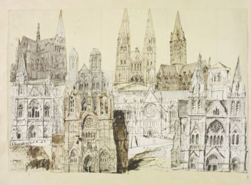 Truro Cathedral, 1878 Artist William Burges